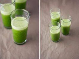 Витаминный напиток из петрушки для поддержания иммунитета и похудения