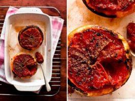 Запеченный грейпфрут с корицей. Жиросжигающая бомба